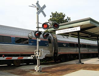 Level crossings are just one of the many problems Amtrak currently faces.