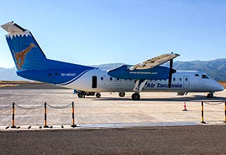Air Tanzania is the national carrier.