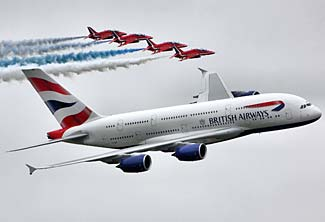 Whether it is on an A380, a 747, or any other of BA's fine planes, here's the best deal I've seen in a long time.
