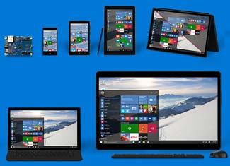 Modern tablets come in all shapes and sizes, starting as big phones and ending as medium sized laptops.