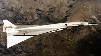 This plane, the XB-70 Valkyrie, was not eligible for consideration because it never became a production plane.
