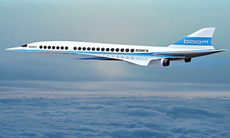 The latest in a long line of proposed SST successors to Concorde. Will this one become more a reality than any of its predecessors? Article below.