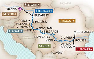 Here's a great way to add five hard to reach countries to your list, on our Bucharest to Budapest cruise this Aug/Sep.