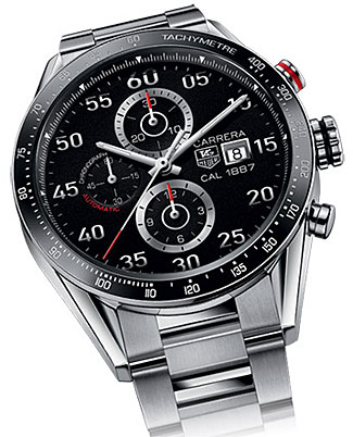 The classic appearing TAG Heuer Connect smart watch, priced up from $2200.