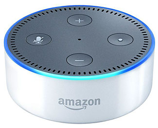 The new Amazon Echo Dot, a $50 device that promises futuristic voice control of your home and your life. But does it deliver?