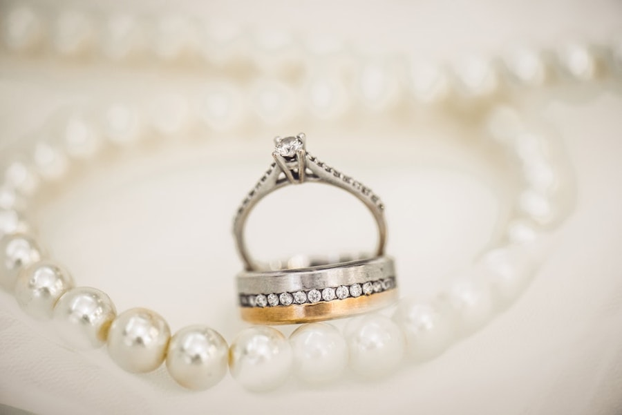 Rings and pearls.