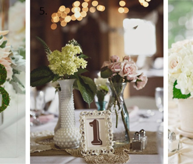 Ideas For Wedding Table Numbers