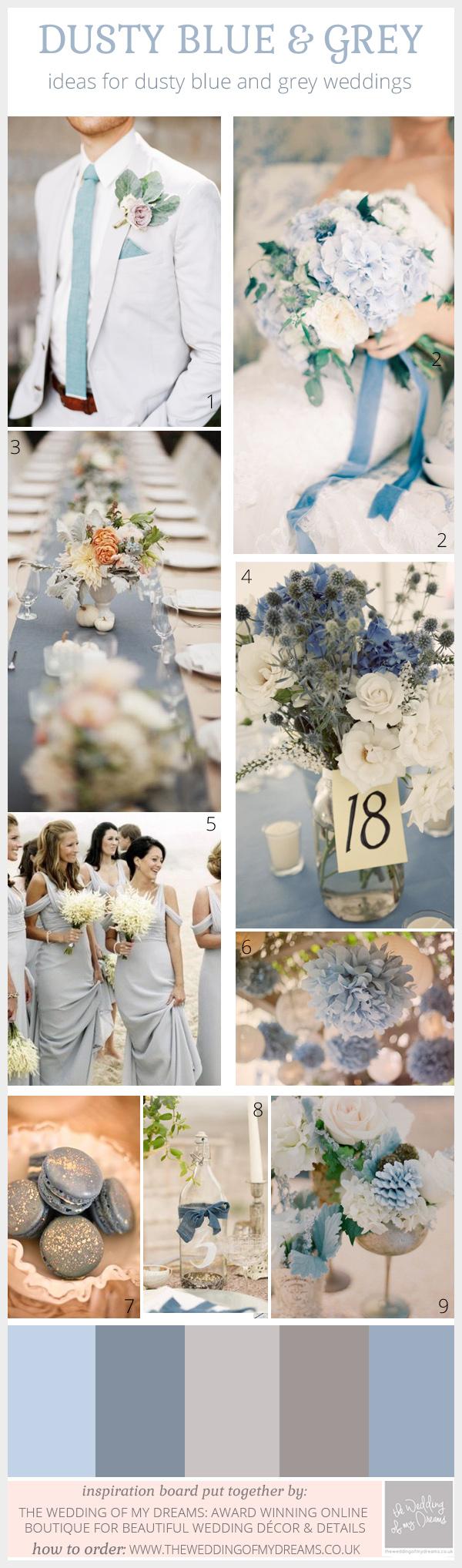 Contemporary Grey Wedding Decor Adornment - Wedding Dress ...