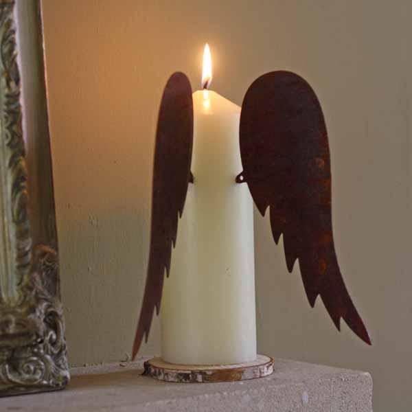 Mercury Pillar Candle Holders