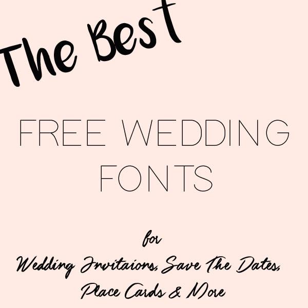 free wedding fonts # 23