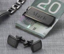Money Clip & Cuff Links