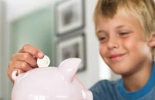 kids piggy bank