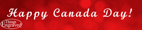 Happy Canada Day banner