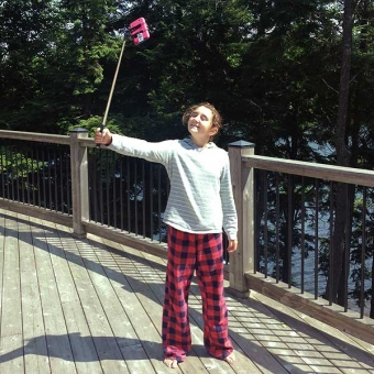 selfie stick kylie