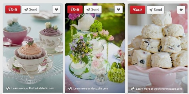 Tea Time ideas from Pinterest!