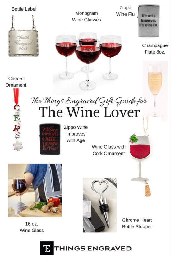 Things Engraved Gift Guide 2015 for the Wine Lover