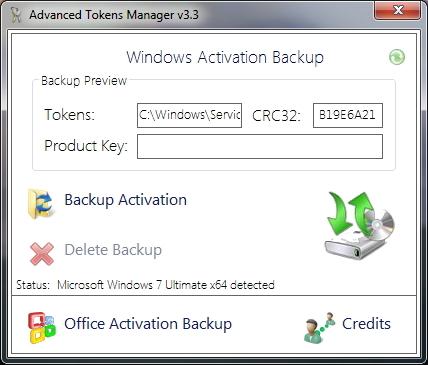 Windows- und Officeaktivierung sichern