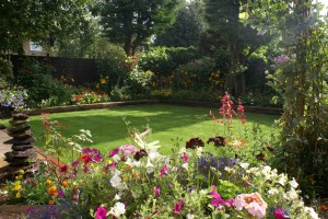 Bicester in Bloom 2012 - Best Back Garden - Gold Award Winner