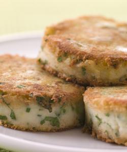 Potato recipe competiton – Bubble and Squeak Cakes