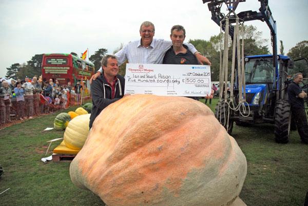 Giant Paton Pumpkin