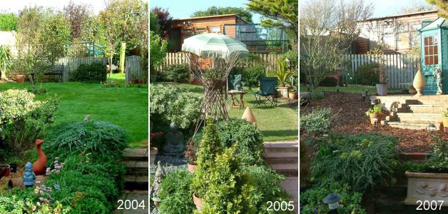 Geoff Garden 2004,2005 & 2007