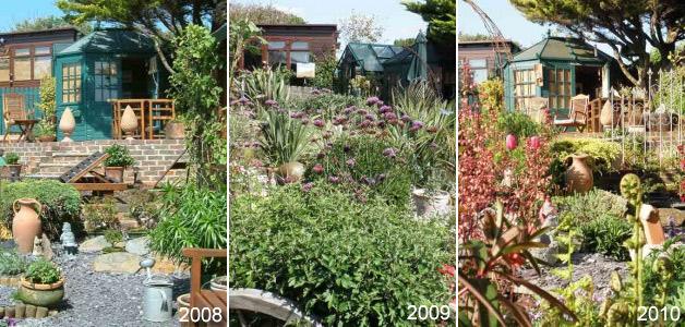Geoff Garden 2008, 2009 & 2010