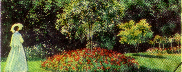 Claude Monet Summer Garden