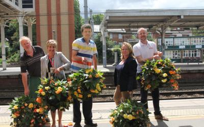 Suffolk train stations back in bloom