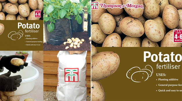 Potato growing kit & T&M potash fertiliser
