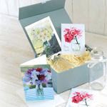 Cut flower seed & bottle gift set