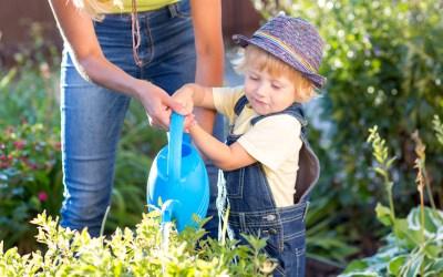 Inspiring kids to love the garden