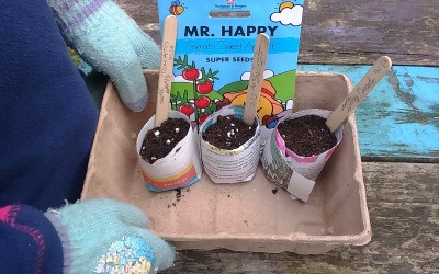 Growing with kids: Mr Men and Little Miss seeds
