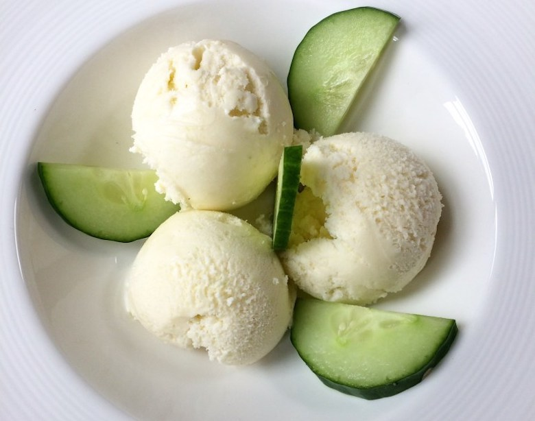 cucumber ice-cream from Diary of a Country Girl
