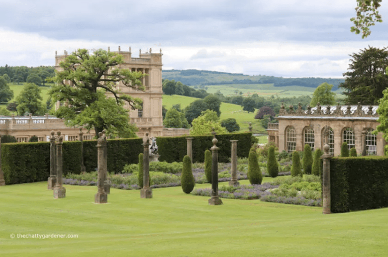 Chatsworth House from The Chatty Gardener