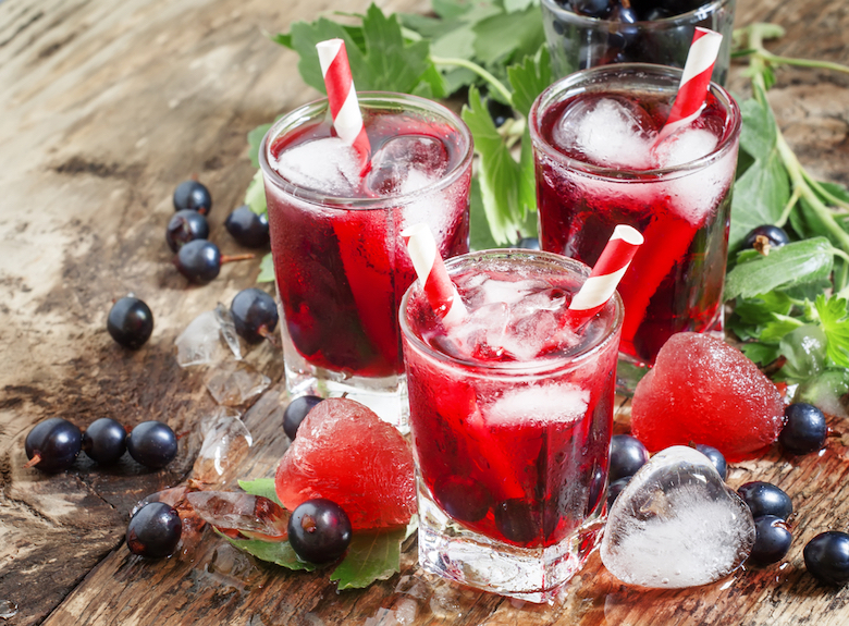 blackcurrant drink