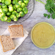 Curried Brussels Sprout Soup from The Flexitarian