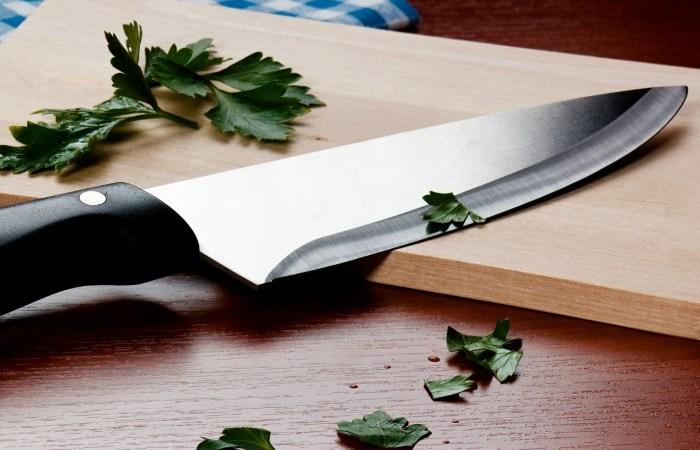 como afiar facas corretamente dicas