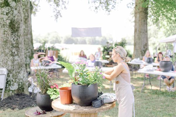 Those Plant Ladies, summer container workshop
