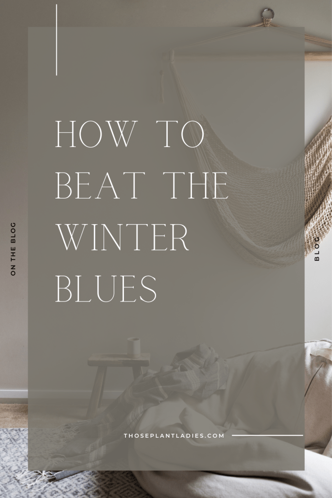 How to Beat the Winter Blues on the Those Plant Ladies blog.