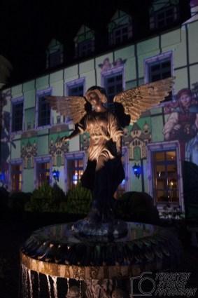 Engel vor der Engelsburg Recklinghausen