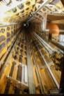 Liftröhre im Atomium