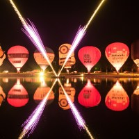 Nightglow beim Twente Ballooning 2017
