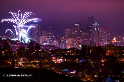 Seattle Welcomes the Year 2013