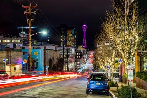 Thomas Street, South Lake Union, Seattle (December 30, 2019)
