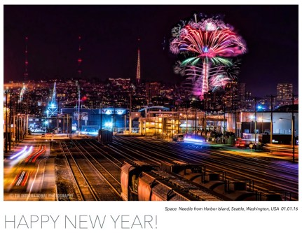 Seattle Welcomes the Year 2016