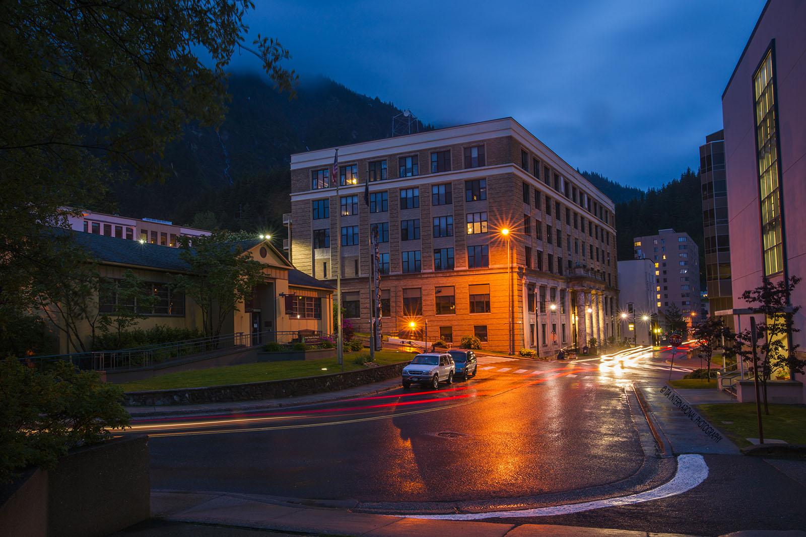 Alaska State Capitol, Juneau, Alaska.