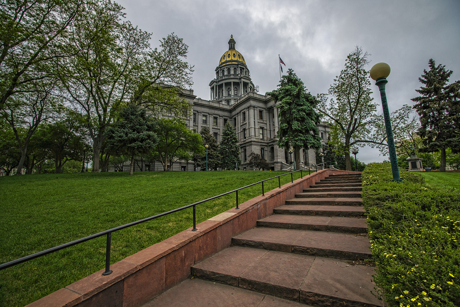 Colorado State Capitol, Denver, Colorado.