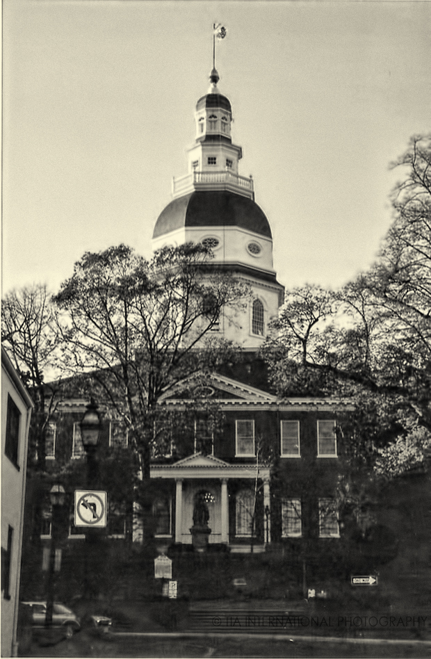 Maryland State Capitol, Annapolis, Maryland.