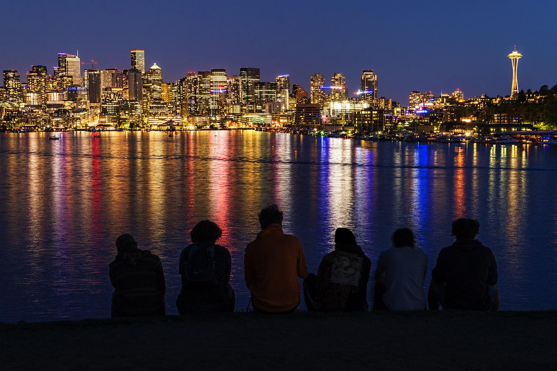 """""""The Seattle Six"""" (Color) / Gas Works Park / April 18, 2021"""