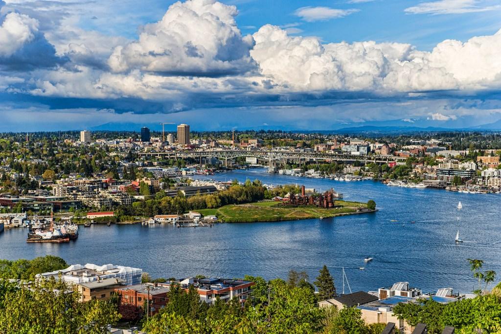 Lake Union, Seattle. (April 2021)